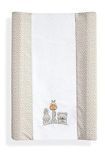 Imagen para Interbaby 91559-02 Basic Friends - Colchón de esponja para bebés, color beige