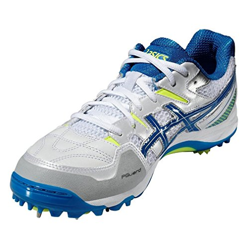 Asics Gel-gully 5, Chaussures de Cricket homme white