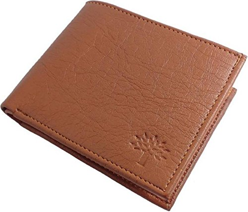 Wood-land Leather Brown Wallet for Men