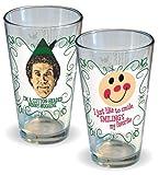 ELF la película Vacaciones de Navidad Set de 2 vasos de cerveza de bebida