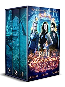 Relic Guardians Boxset (Books One to Three: Ancient Magic, Hidden Magic, Cursed Magic): A Ley Line World Urban Fantasy Adventure (Relic Guardians Boxsets Book 1) by [Cowley, Meg, DeLuis, Victoria]