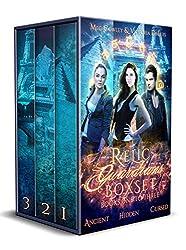 Relic Guardians Boxset (Books One to Three: Ancient Magic, Hidden Magic, Cursed Magic): A Ley Line World Urban Fantasy Adventure (Relic Guardians Boxsets Book 1)