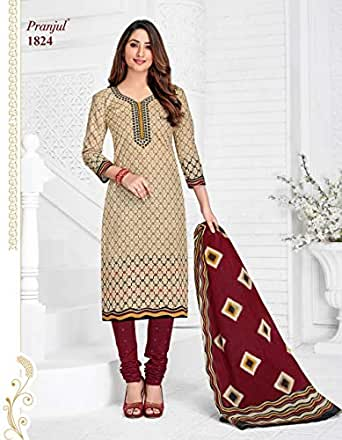 Pranjul Patiyala fully stitched chudidar 1824 xxl