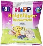 Produkt-Bild: Hipp Heidelbeer Reiswaffeln, 30 g