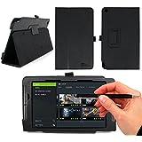 DURAGADGET Funda EXCLUSIVA Para La Nueva Tablet Nvidia Shield + Lápiz Stylus ( 2 en 1) En Color Negro