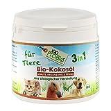 Kokosöl für Tiere -ein natürlich wirksamer Schutz gegen Zecken, Milben, Parasiten & Fellpflege ohne Chemie (500ml PE-Becher)