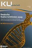 Deutsche Kodierrichtlinien 2009 mit Kommentierung durch den MDK