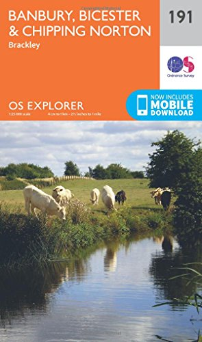 os-explorer-map-191-banbury-bicester-and-chipping-norton