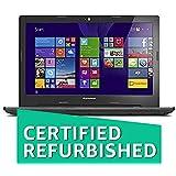 (CERTIFIED REFURBISHED) Lenovo G50-80 80E502UKIN 15.6-inch Laptop (Core i5-5200U/4GB/1TB/AMD Radeon R5 M330 Graphics/Windows 10) Black (Without Bag)