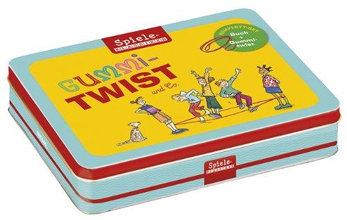 moses. Gummitwist-Set | Spiele-Klassiker in der Metalldose | Mit Buch und Gummitwist (Urlaub Geschenk-sets)