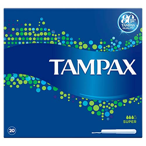 Tampax Tampons Blue Box Super X 20