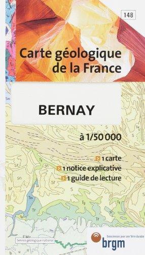 Carte géologique : Bernay par Cartes BRGM