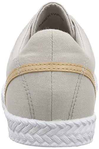 Esprit Silvana Lace Up, Sneakers basses femme Beige - Beige (040 light beige)