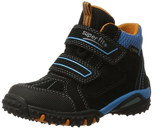 Superfit Jungen SPORT4 Hohe Sneaker, (Schwarz Multi), 30 EU