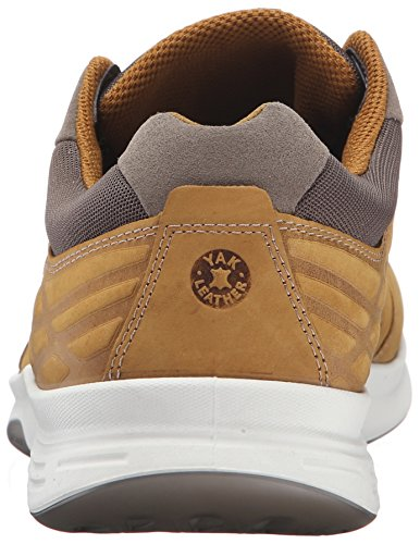 Ecco Ecco Exceed, 870004 02424 Exceed - Dry Tobacco Yabuck Yak homme Jaune (DRIED TOBACCO02424)