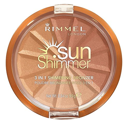 Sunshimmer 3-in-1 Shimmering Bronzing Powder, Gold Princess -