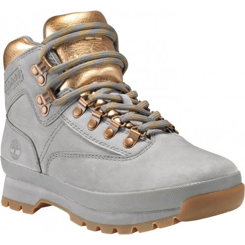 Chaussures Timberland Euro Hiker Leather Steeple Gris
