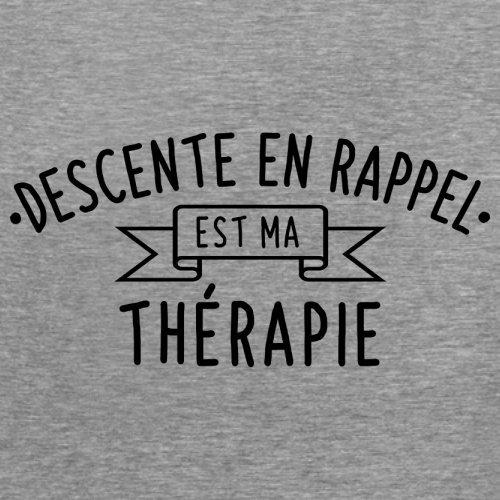La descente en rappel est ma thérapie - Femme T-Shirt - 14 couleur Gris