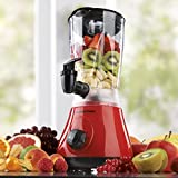 Gourmetmaxx Power-Mixer 2 in 1, 400 W, rot