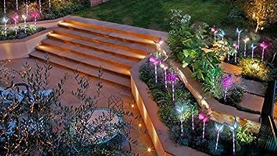 Beleuchtung Au?en Solarleuchte Garten, Solar Garten Lampen mit Farbwechsel LED Solar Lichter, Au?en Dekoration Lichter für den Garten/Rasen/Terrasse/Feld/Weg von SANDIN bei Lampenhans.de