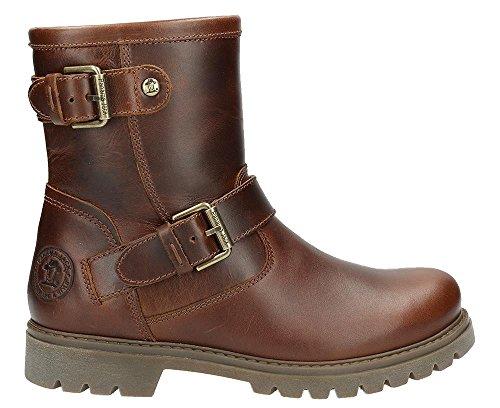 PANAMA JACK Damen Winterstiefel Felina,Frauen Winter-Boots,Fellboots,Fellstiefel,gefüttert,warm,wasserabweisend,Lederfarben,EU 41