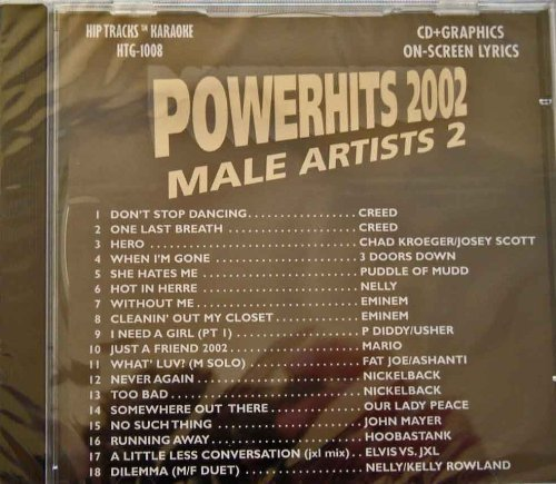 Power Hits Rock Disc #2 CD+G/CDG 1008 by Creed