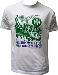 T-shirt ASSE - Finale Coupe de la Ligue 2013 contre Rennes - Collection officielle AS SAINT ETIENNE - Tee shirt enfant