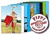 10er-Set: Postkarten A6 +++ MIX SET Nr. 1 von modern times +++ 10 schöne PIPPI LANGSTRUMPF-Motive +++ perfekt für POSTCROSSING +++ ohne deutschen Text!