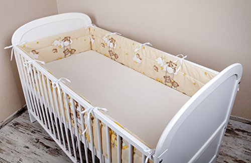 bettumrandung nest kopfschutz nestchen 420x30cm 360x30cm 180x30 cm bettnestchen baby. Black Bedroom Furniture Sets. Home Design Ideas