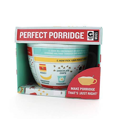 Porridge-Becher, zur Mikrowellenbenutzung, Füllmarkierungen im Inneren
