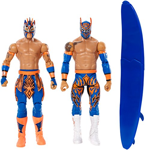 WWE Mattel - DJR97 Battle Pack - Sin Cara & Kalisto - 2 x Actionfiguren, 15cm