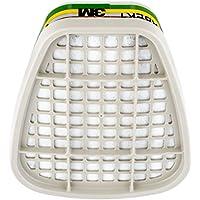 3M K6059 - Filtri per maschere antigas ABEK1, per vapori organici/inorganici/gas acidi, colore: Bianco, Confezione da 8 pezzi