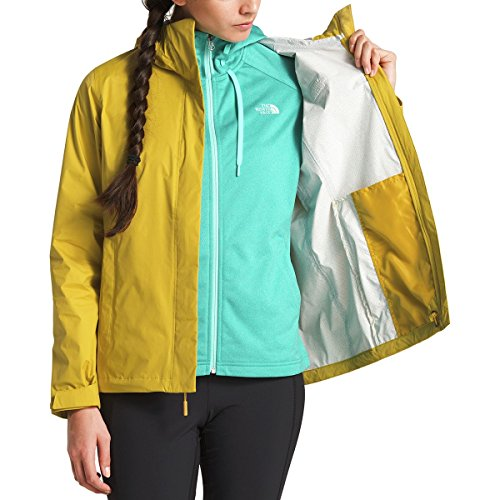 The North Face Women's Venture 2 Jacket - Leopard Yellow - XL North Face Women Venture Jacket