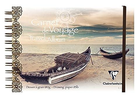 Clairefontaine PP Album de voyage, A5, 30 white pages - Bateau