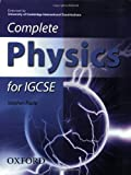 Complete Physics for IGCSE: Endorsed by University of Cambridge International Examinations by Stephen Pople (2007-03-15)