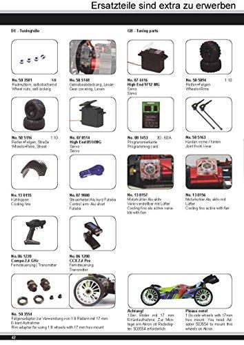 Akron Monstertruck 1:10 BL 4WD Lipo 2,4G- Allrad, Brushless, Akku, 60Kmh, Aluchassis, spritzwasserfest, Öldruckstoßdämpfer, Kugellager, Fahrwerk einstellbar, fahrfertig - 12