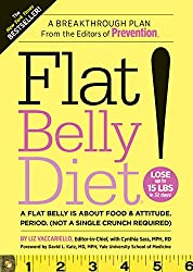 Flat Belly Diet!:A Flat Belly is about Food & Attitude.  (Not a Single Crunch Required)