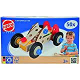 Simba 100039016 - juegos de construcción (Vehicle erector set, 3 año(s), Negro, Azul, Rojo, Madera, Caja)