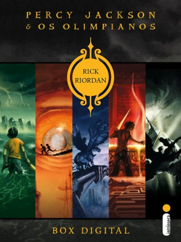 Box Percy Jackson e os Olimpianos (Portuguese Edition) (Rick Riordan-box)