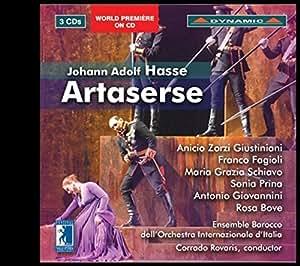 Hasse: Artaserse (Festival della Valle d'Itria, 2012) [3 CDs]