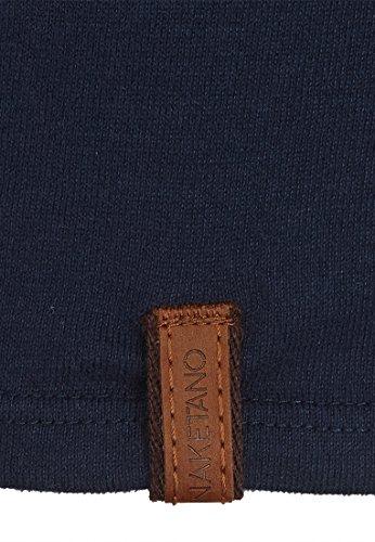 Naketano Male T-Shirt Bumsebumse Shirt Dark Blue
