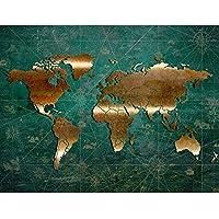 Entzuckend Fototapete Weltkarte Vlies Wand Tapete Wohnzimmer Schlafzimmer Büro Flur  Dekoration Wandbilder XXL Moderne Wanddeko   100