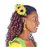 Sonnenblumen Haarspange - Toller Haarschmuck zum Faschingskostüm Gärtnerin oder Clown