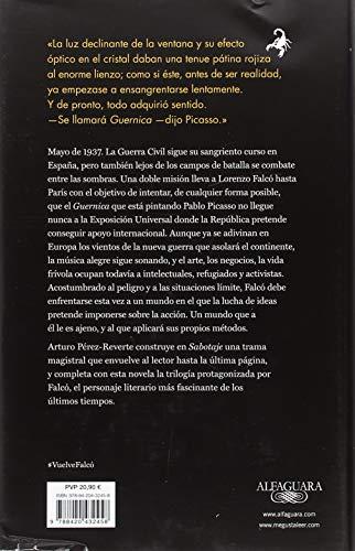 Opiniones del libro SABOTAJE (Serie Falcó) de Arturo Pérez-Reverte