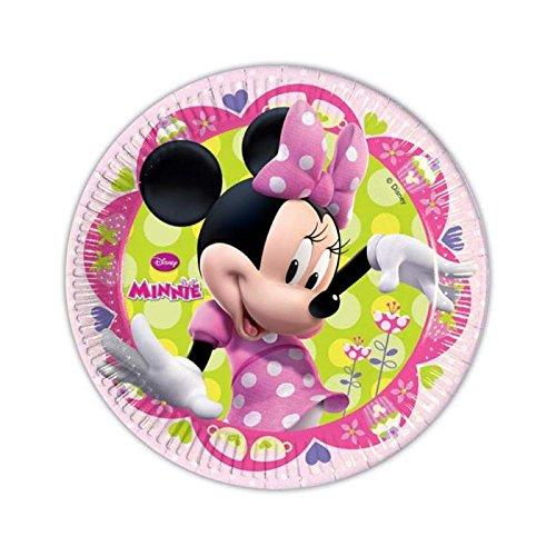 Assiettes-Minnie--dessert-x10