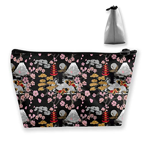 e22224301982 Japan Sukiyaki Medium Cosmetic Makeup Bag Travel Pouch Carry Case