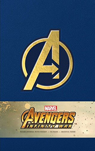 Marvel's Avengers Infinity War Hardcover Ruled Journal