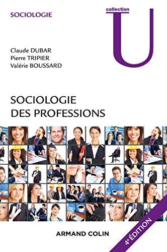 Sociologie des professions - 4e d.