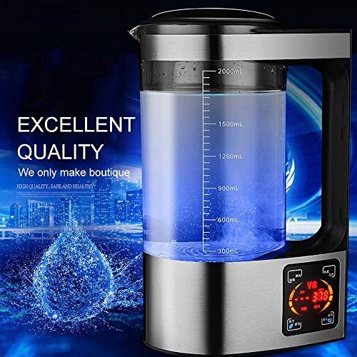 ktrolyse von wasserstoffreichem Wasser Maschine wasserstoffreiches Wasser Maschine gesundheitswesen Tasse Anion schwach alkalisch große kapazität 2l ()