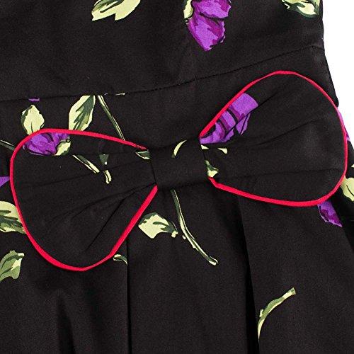 Bafei - Robe - Trapèze - Sans Manche - Femme Color 10